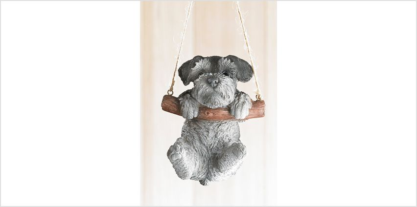 Rocking Pet Pals Hanging Ornament Schnauzer from Studio