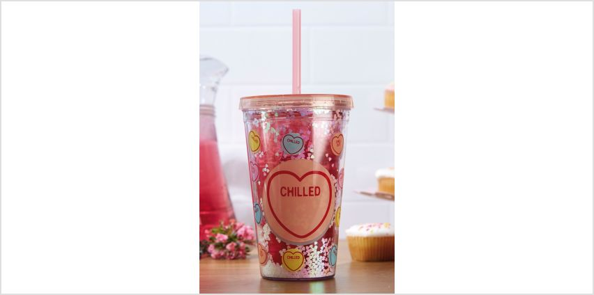Love Heart Straw Cup from Studio
