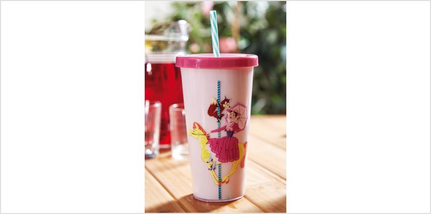 Mary Poppins Cup and Straw from Studio