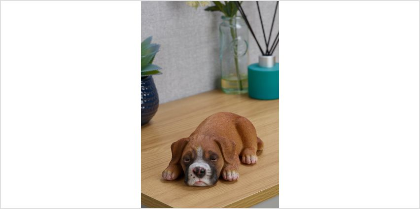 Boxer Sleeping Pet Pal Figurine from Studio