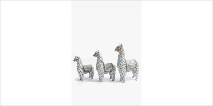 Llama Family Figurines from Studio