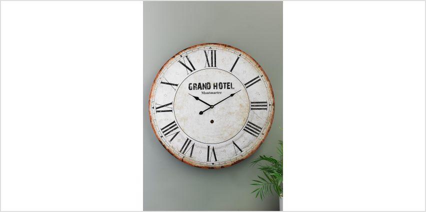 Grand Hotel Clock from Studio