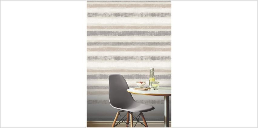Painted Stripe Wallpaper from Studio