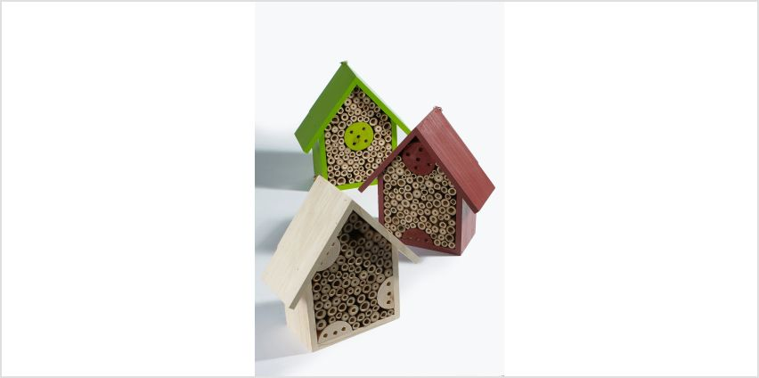Pack of 3 Insect Hotels from Studio