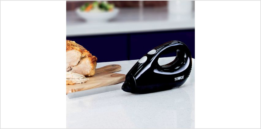 Tower Electric Carving Knife from Studio