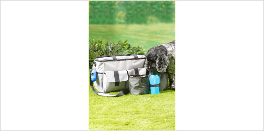 Pet Travel Bag with Accessories from Studio