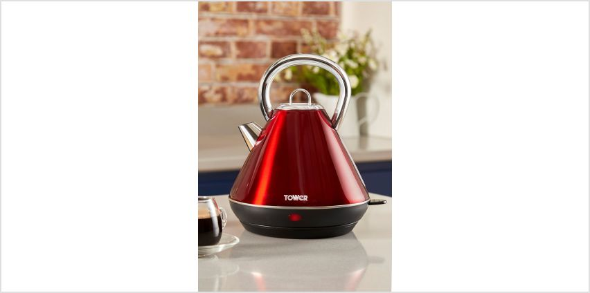 Tower Red Infinity Kettle from Studio