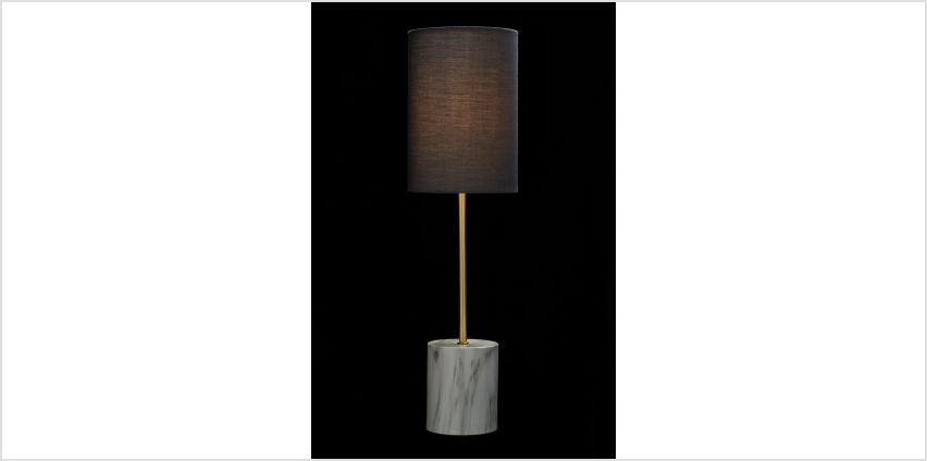 Faux Marble Table Lamp from Studio