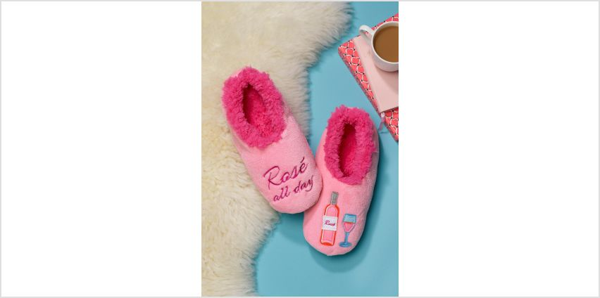 Rose Snoozie Slippers from Studio