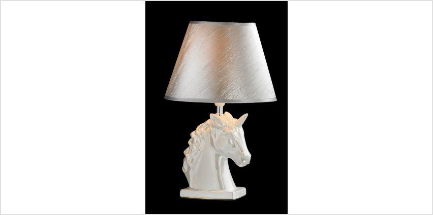 Pearlised Unicorn Lamp from Studio