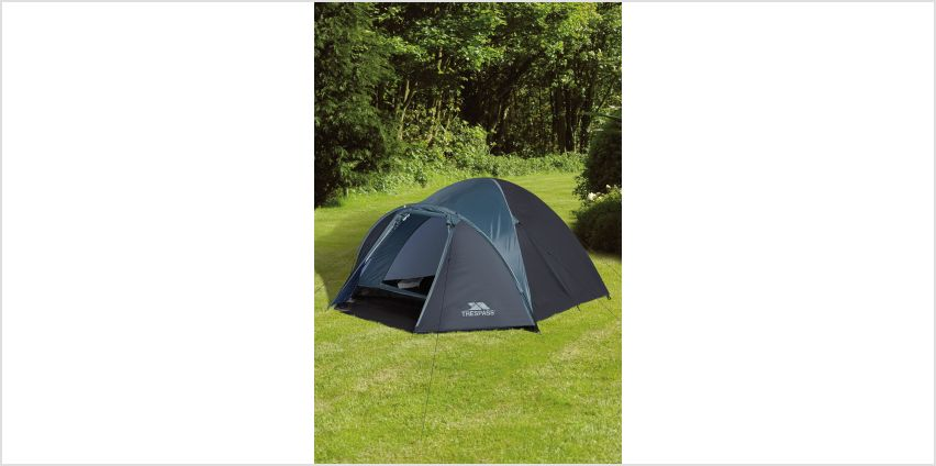 Trespass Ghabher 4 Man Double Skin Tent from Studio
