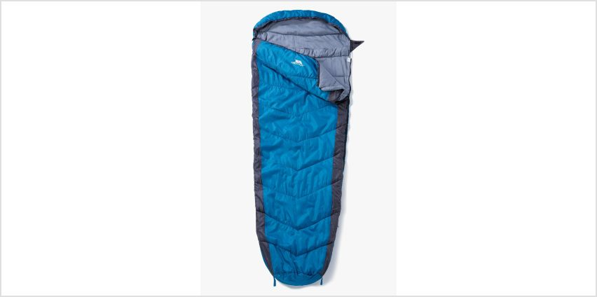 Trespass S3 Mummy Kingfisher Sleeping Bag from Studio