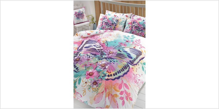 Tropical Butterfly Duvet Set from Studio