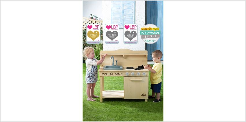 Award Winning Mud Kitchen with Water Function from Studio