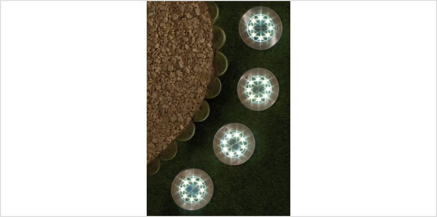 Pack of 4 Ground Solar Lights from Studio