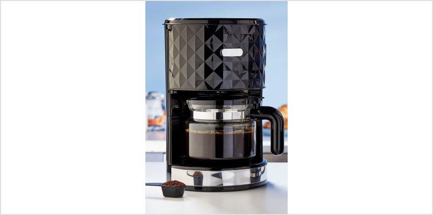 Diamond Black Coffee Maker from Studio