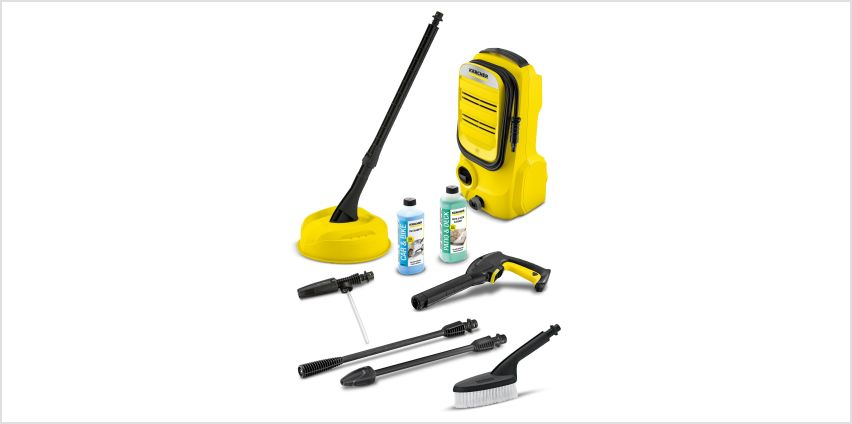 Karcher 1400W K2 Compact Home and Car Pressure Washer from Studio