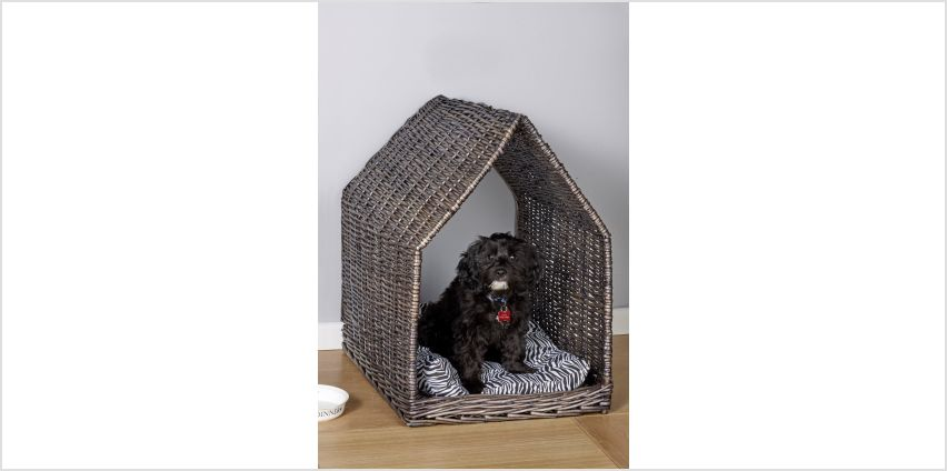 Small Rattan Dog House from Studio