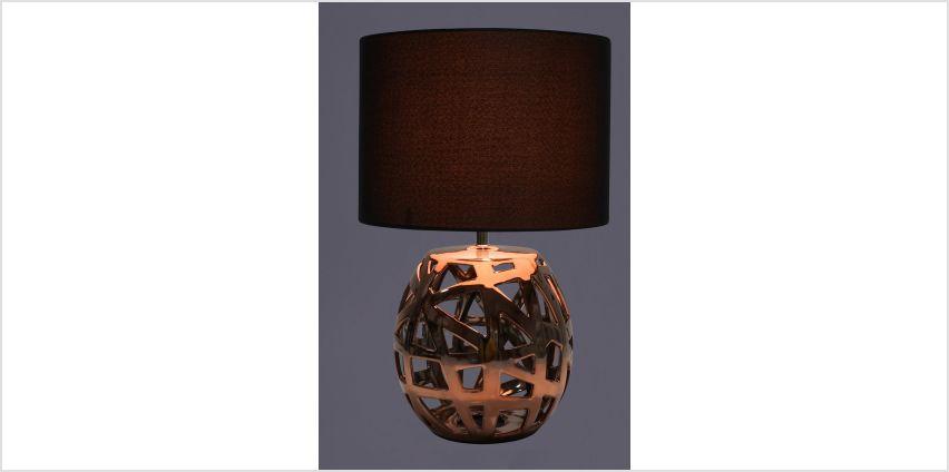 Napier Copper Table Lamp from Studio