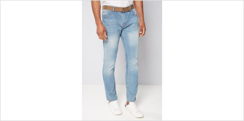 Denim Straight Fit Jeans from Studio