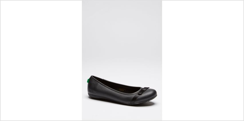 Kickers Verda Bow Ballet Shoes from Studio