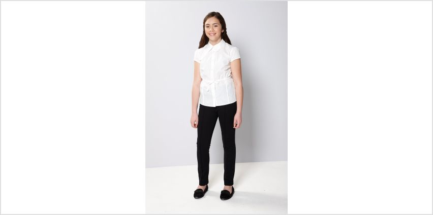 Girls Shirt with Waist Tie from Studio