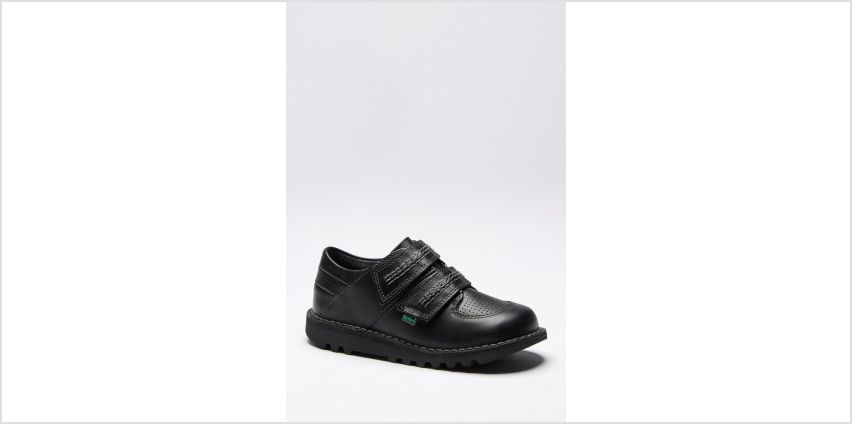 Boys Kickers Sneakrise Lo Shoes from Studio