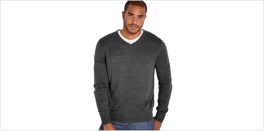 V-Neck Knitted Jumper from Studio