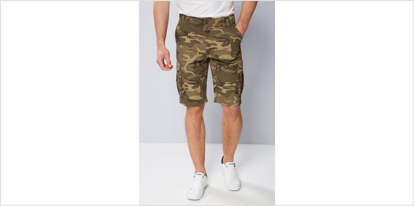 Camo Cargo Shorts from Studio