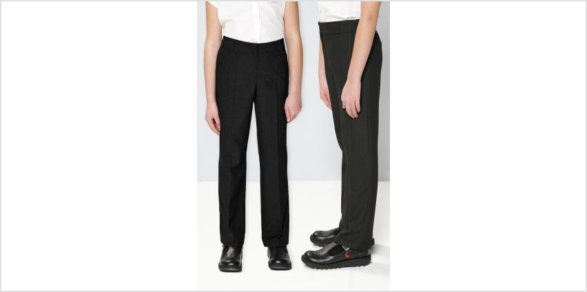 Pack of 2 Adjustable Waist Trousers from Studio