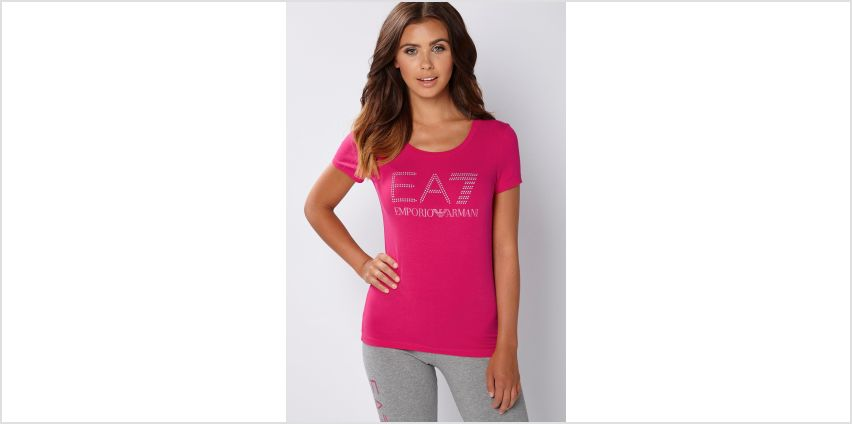 EA7 Stud Logo T-Shirt from Studio