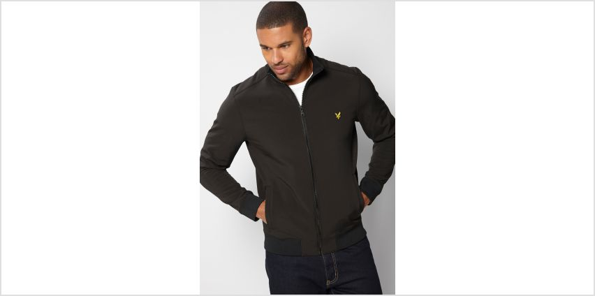 Lyle and Scott Zip Through Funnel Jacket from Studio