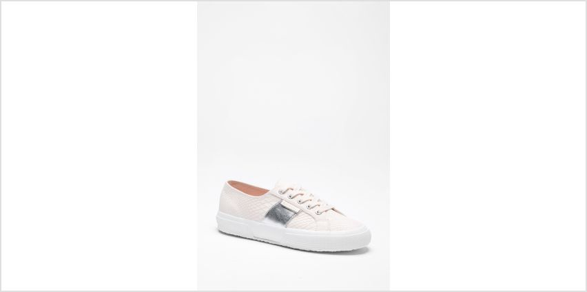 Superga 2750 Cotu Classic Pink Silver Trainers from Studio