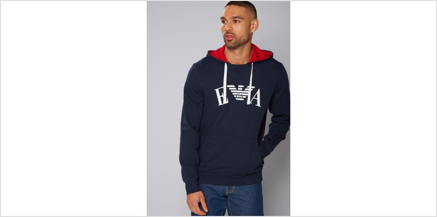 Emporio Armani Over the Head Hoody from Studio