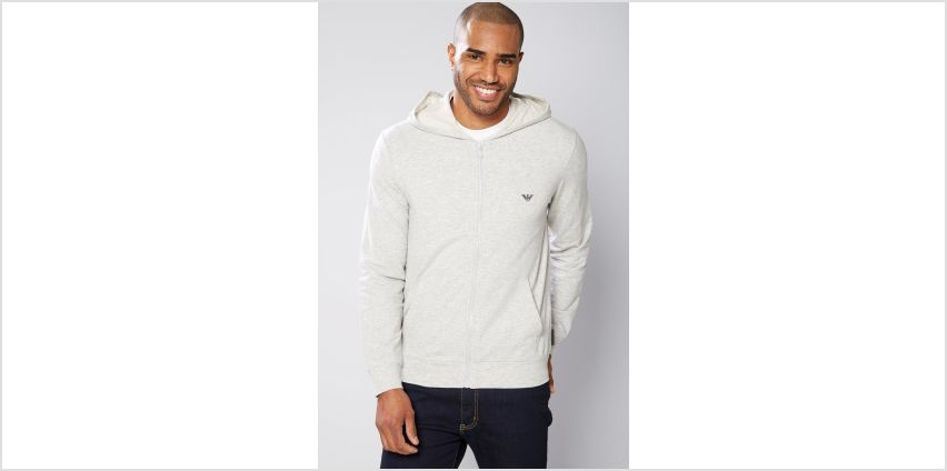 Emporio Armani Zip Through Hoody from Studio