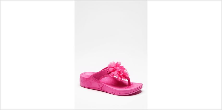 Moulded Toe Post Flower Sandals from Studio