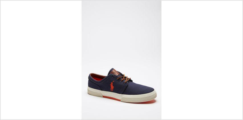 Ralph Lauren Faxon Low Canvas Sneakers from Studio