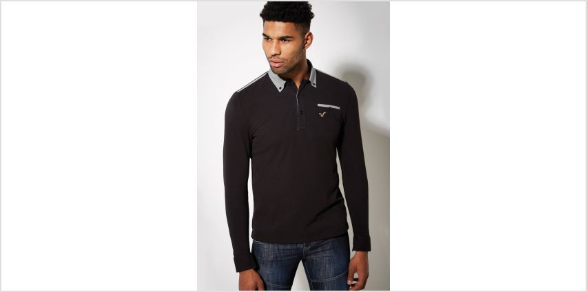 Voi Long Sleeve Polo Shirt from Studio