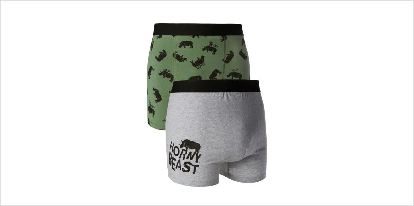 Pack of 2 Beast Boxers from Studio