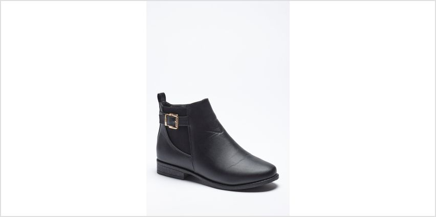 Buckle Flat Chelsea Boots from Studio