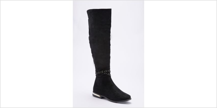 Over the Knee Boots with Ankle Strap from Studio