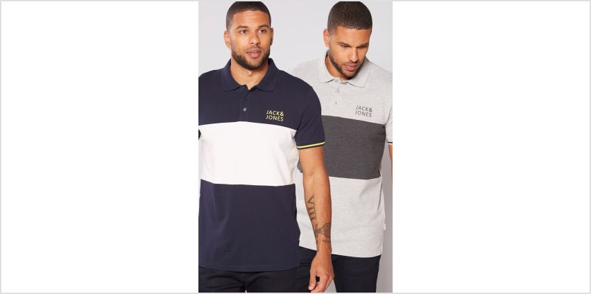 Jack and Jones Pack of 2 Polo Shirts from Studio