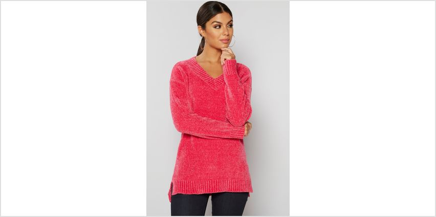 V Neck Chenille Jumper from Studio