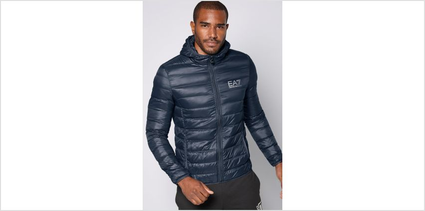 EA7 Hooded Down Jacket from Studio