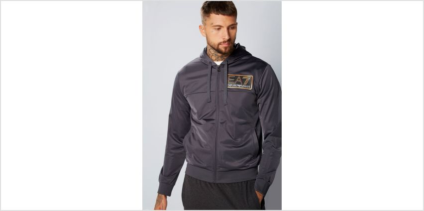 EA7 Poly Zip Through Hoody from Studio