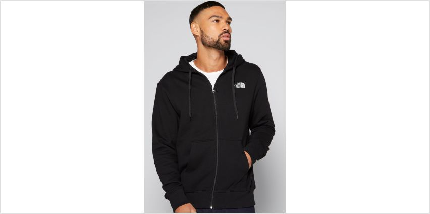 The North Face Open Gate Light Zip Through Hoody from Studio