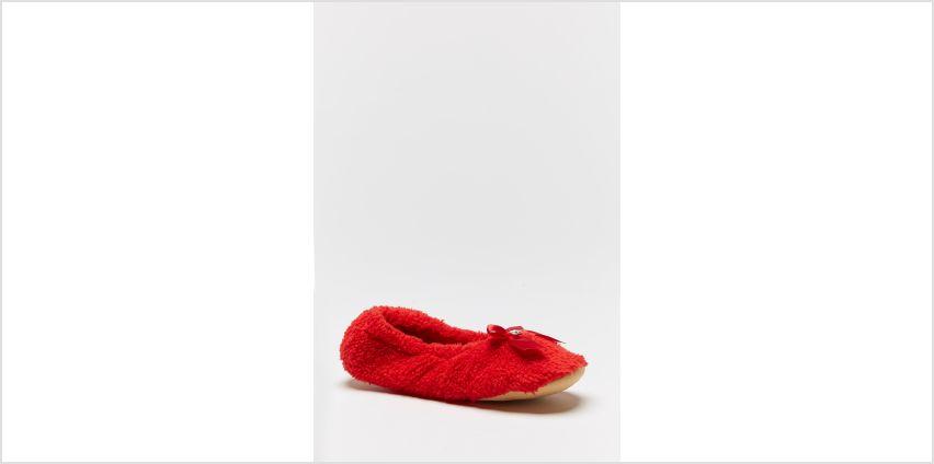 Fluffy Ballerina Slippers from Studio
