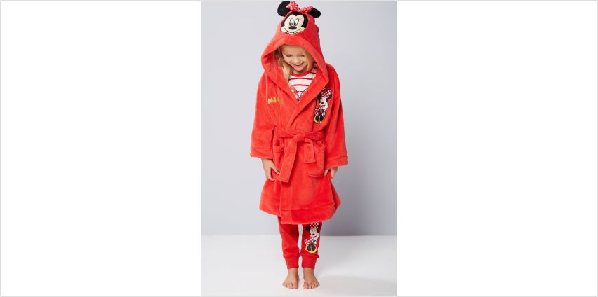 Older Girls Minnie Mouse Robe from Studio