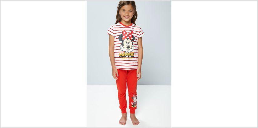 Older Girls Minnie Mouse Pyjamas from Studio
