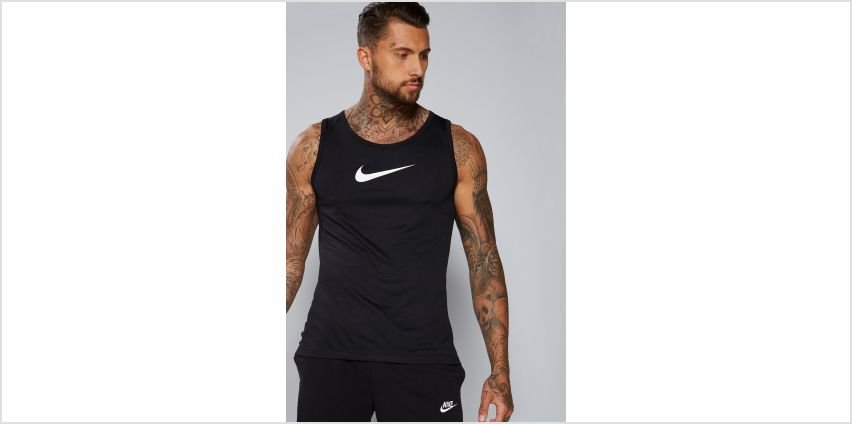 Nike dri-FIT Swoosh Logo Vest from Studio